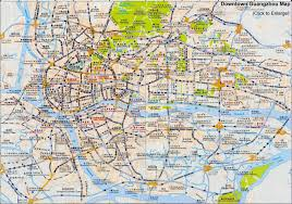 los angeles map pdf guangzhou maps downtown layout metro attractions