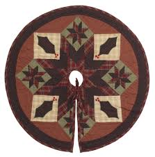 Poinsettia Christmas Tree Skirt Christmas Tree Skirts Country Quilts By Choice Quilts