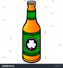 beer bottle cartoon irish beer bottle stock vector 269386067 shutterstock