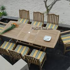 Teak Outdoor Dining Tables Teak Patio Dining Tables Teak Outdoor Tables