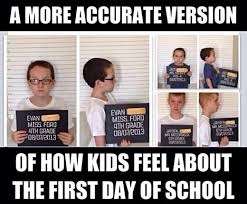 First Day Of School Funny Memes - what my first day of school felt like