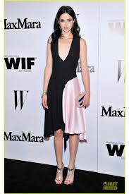 ritter the maxmara and w magazine cocktail party v neck satin dress
