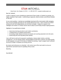 Sample Team Leader Resume Team Leader Resume Cover Letter Free Resume Example And Writing