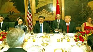 trump and chinese president xi jinping dinner at mar a lago youtube