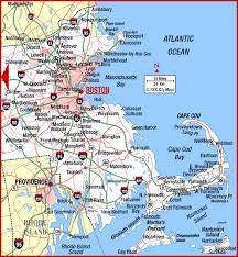 road map massachusetts usa road map of eastern massachusetts cape cod air station cape cod