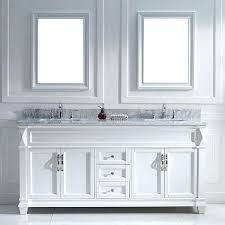 White Double Vanity 60 Vanities Virtu Usa Victoria 72 Inch White Double Sink Vanity Set