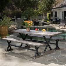 Rustic Patio Tables Rustic Outdoor Furniture Farmhouse Style Options The Country