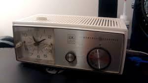 Jcpenney Clocks Vintage Ge Clock Radio Model C 1430a Youtube