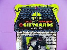 3 halloween target edgar u0026 ellen gift cards and 50 similar items