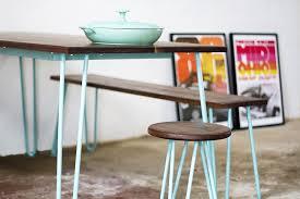 Hairpin Leg Dining Table Hairpin Leg Dining Set Walnut Wood