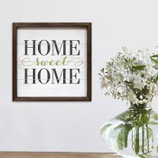 home decor u0027 u0027home sweet home u0027 u0027 wall art
