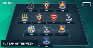 epl matchday 11 premier league team of the week matchday 4 goal com