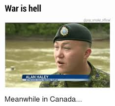 Alan Meme - war is hell official alan haley witnessed duck fighting turtle winni