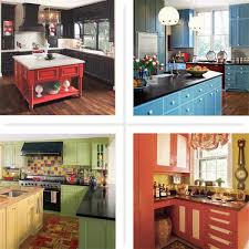 colorful kitchen cabinets ideas modern kitchen colors picking the best kitchen colors