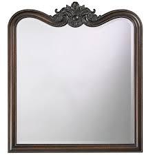 34 in x 38 in vintage framed mirror in antique bronze 4079 the