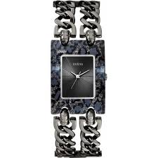 bracelet watches guess images Women 39 s watches brand new guess ladies gunmetal bracelet jpg