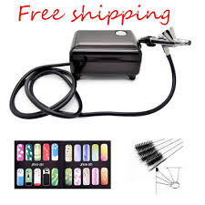 airbrush set kit pen body paint makeup spray gun for paint with a