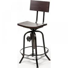 Adjustable Bar Stools Adjustable Bar Stool With Back Shakunt Vintage Furniture Exporter