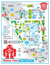 Arduino Map Maker Faire Schedule Maker Faire