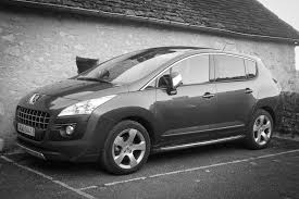 peugeot 3008 2017 black peugeot 3008 competitive randonneuring and commuting