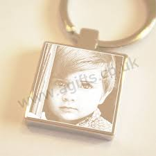 personalized keychain gifts personalised photo engraved keychain