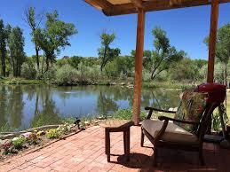 Patio Pond by Paradise Pond Solar Adobe Casita On 8 Lush Vrbo