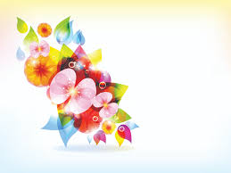 ppt colorful flowers vector file powerpoint file ppt grounds