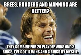 Brady Manning Meme - looking at the patriots 2014 archive page 9 patriots planet