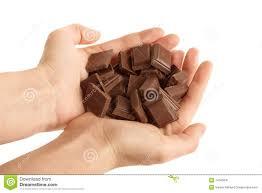holding blocks chocolate stock images 3 photos