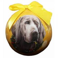 e s pets weimaraner ornament shatter proof easy to