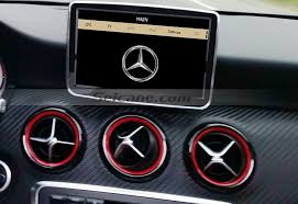 mercedes gps navigation system inch touch screen mercedes a class w176 unit gps