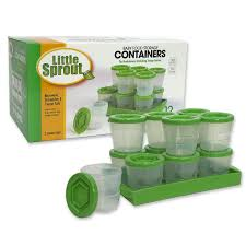 Baby Storage Amazon Com Baby Food Containers Reusable Stackable Freezer Safe
