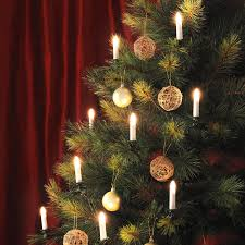 lovely decoration tree candle lights clip on tapered 10