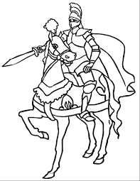 knight coloring pages starsnues