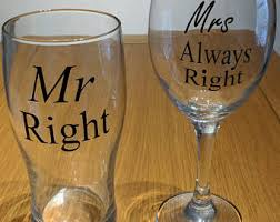 his and hers glassware his and hers glasses etsy uk