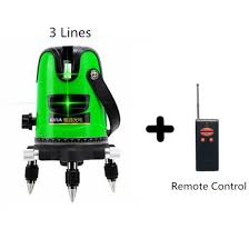 china green 3 cross line laser level with romote china