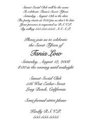 quinceanera invitation wording quinceanera invitation wording sles dhavalthakur