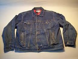 Rugged Wear Clothing Vintage Rugged Wear By Bog Button Down Denim Jacket Men U0027s Size Xl
