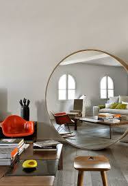 Wall Mirrors For Living Room by 10 Dazzling Round Wall Mirrors To Decorate Your Walls