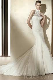 cheap vintage wedding dresses mermaid halter glorious lace wedding dresses vintage wholesale