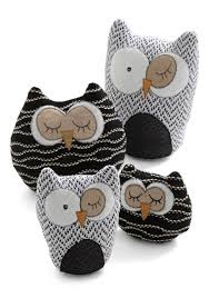 owl in plush set multi dorm decor owls these look easy enough