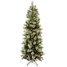 modest ideas slimline tree slim pre lit trees artificial