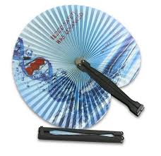custom paper fans folding paper fan custom printed 17300 fanprinter
