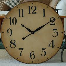 bedroom ideas nice large wall clocks with oxford linen clock with