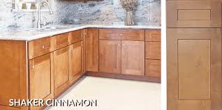 cabinet styles excalibur kitchen and bath llc shaker cinammon