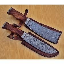 kitchen knives with sheaths of 2 pcs damascus kitchen knife custom handmade damascus steel