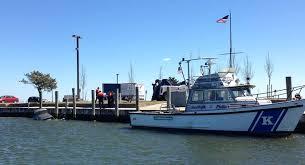 marine bureau cop saves trapped in car at bay shore marina