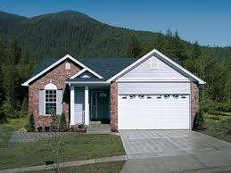 house plans for narrow lots with garage ashmont woods ranch home plan 007d 0060 house plans and more