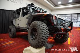 gray jeep 2017 2017 sema rugged ridge gray jeep jk wrangler unlimited