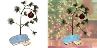 linus christmas tree own the peanuts brown christmas tree for only 6 from